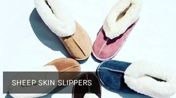sheep skin slippers