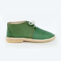 Forest Green side Vellies